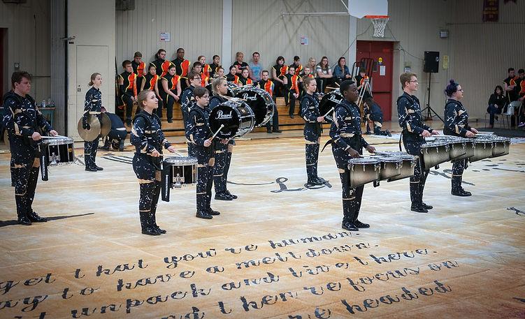 St Mary Percussion (MM Robinson, Burlington, 2016)