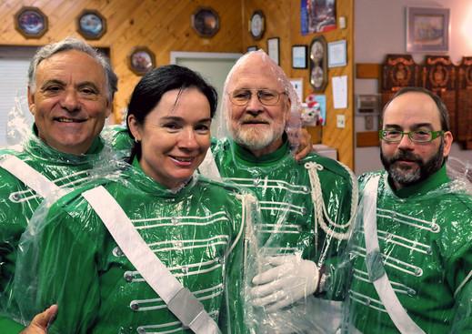 Joe Gianna, Karen Bosworth, Barry Bell and William Porquet (Bobcaygeon, 2011)