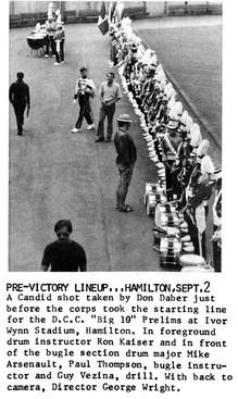Prior to 'Big 10' in Hamilton (1972)