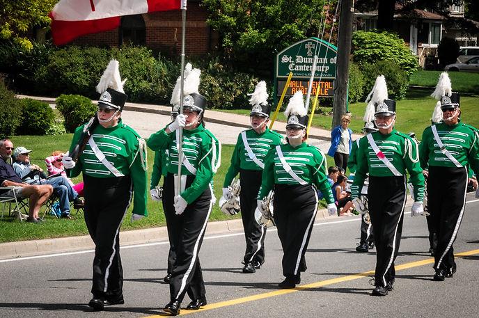 Optimists Alumni (Highland Creek Parade, 2015)