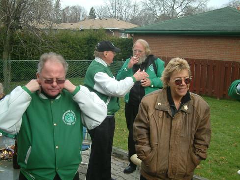 Front: George Wright, Carol Munro; Back: Lorne Ferrazzutti, Paul Thompson (Ric Brown's, 2005)