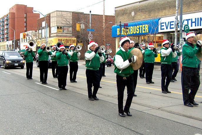 Optimists Alumni (Etobicoke Lakeshore Santa Claus Parade, 2006)