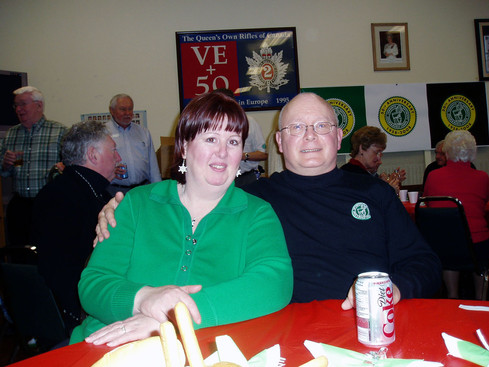 Jan and Dave Burgess, Belated Christmas party (Jan. 2008)