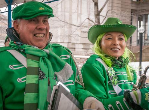 Barry Woods and Soo Lee, Optimists Alumni (Toronto St Pat's Parade, 2019)