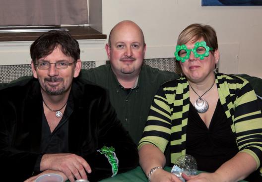 Doug, Michael & Kathleen (Wearing of the Green, 2013)