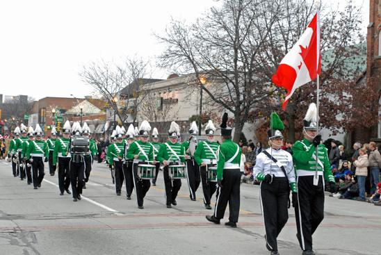 Optimists Alumni (Oakville Santa parade, 2009)