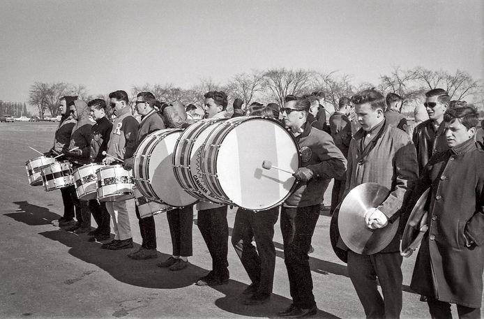Toronto Optimists practicing (CNE, 1964)