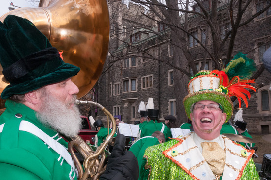 Keith Dearlove and Barry Woods, Optimists Alumni (Toronto St Patrick's Day Parade, 2017)