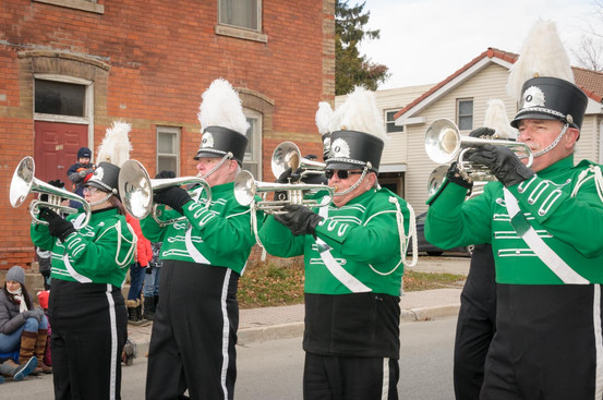Optimists Alumni (Acton Santa Claus Parade, 2014)