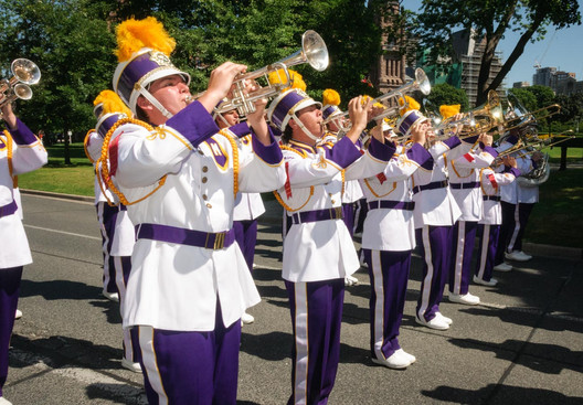 Mississippi Lions Band (Lions International Parade, Toronto, 2014)