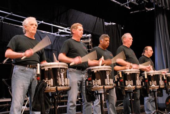 CADRE rehearsing (Simcoe, 2011)