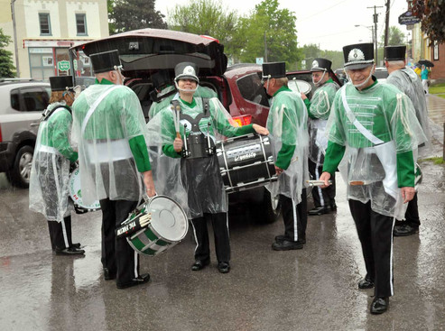 A bunch of the drummers (Bobcaygeon, 2011)