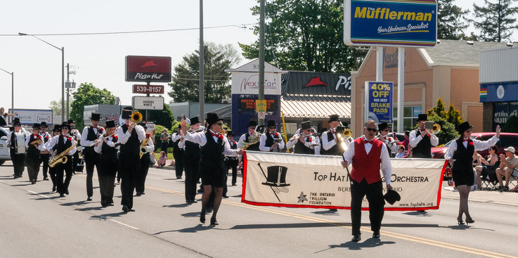 Top Hat Marching Orchestra (Woodstock, 2016)