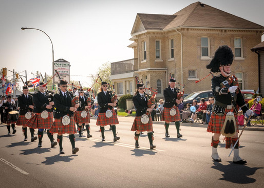 Pipe Band (Woodstock, 2014)