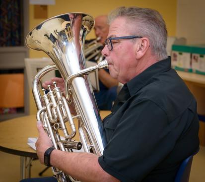 Dave Bruce (Rehearsal, Sept 30, 2017)
