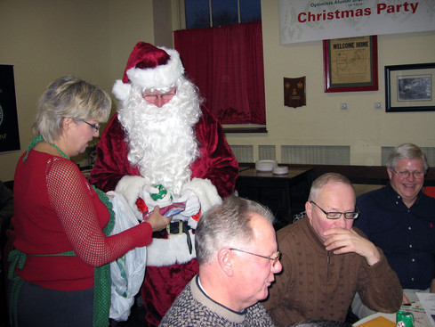 Belated Christmas party (Jan. 2008)