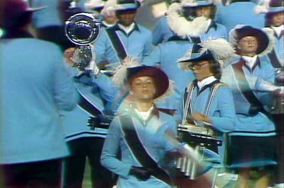 Carol Munro (wearing glasses) Oakland Crusaders (DCI, 1976)