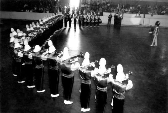 Grantham Police Boys Band (Leaside arena, 1961)