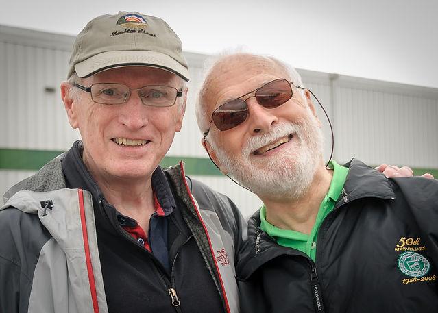 John Byrne and Bob (Woodstock, 2019)