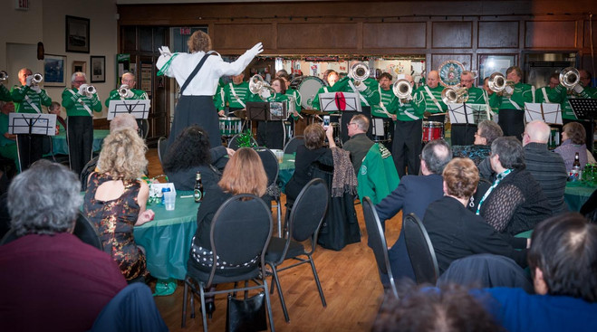 Optimists Alumni performing (Wearing of the Green, 2013)