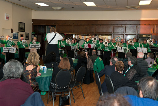 Corps playing (Wearing of the Green, 2013)