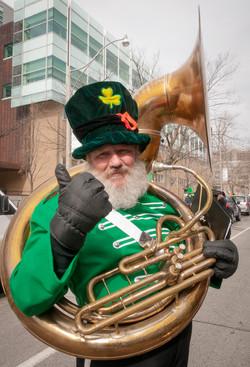 Keith Dearlove, Optimists Alumni (Toronto St Patrick's Day Parade, 2017)