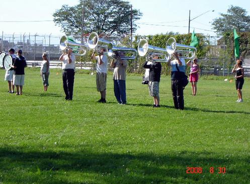 Optimists Alumni rehearsing (Rochester, DCA, 2008)