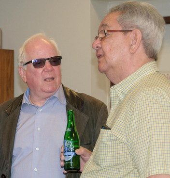 Paul J Paterson and Ron Chong (Remembering Paul Thompson, 2015)