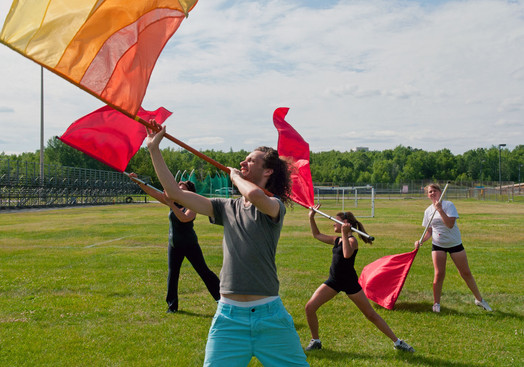 Northstar Colours and one of their instructors (Sudbury, 2011)