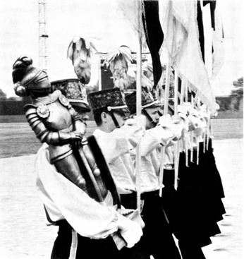 SAC's guard on retreat (about 1965)