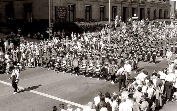 Boston Crusaders (Great Circus Parade, Milwaukee, 1964)