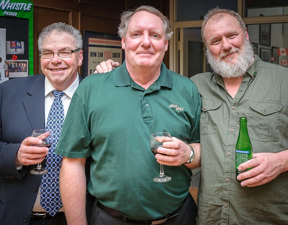Dave, Ric and Keith (Wearing of the Green, 2014)
