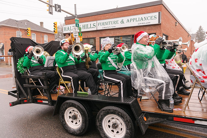 Optimists Alumni (Acton Santa Parade, 2017)
