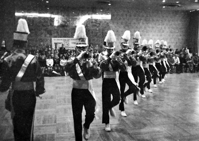 from Drum Corps Digest, May 1965