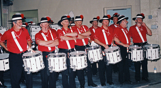 Scout House drums (Woodstock, 2008)