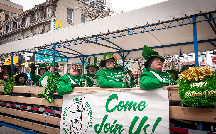 Optimists Alumni (Toronto St Pat's Parade, 2019)