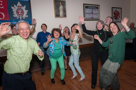 Having fun (Wearing of the Green, 2013)