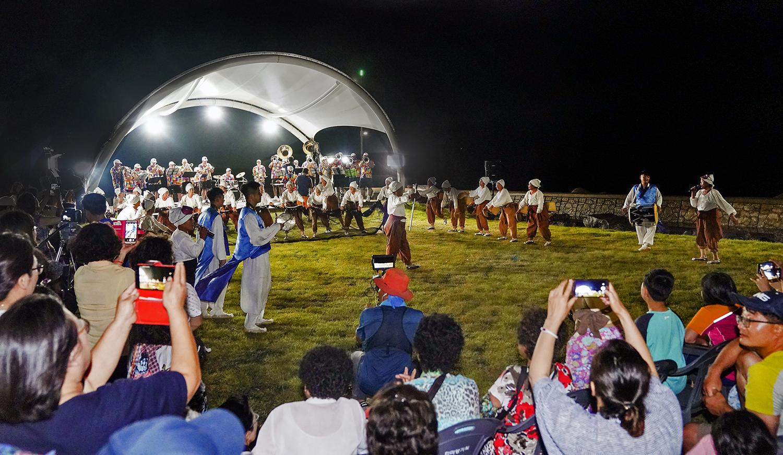 Optimists Alumni with Haenyeo Dancers (Gosan-ri Haenyeo Outdoor Stage, Jeju, 2019)