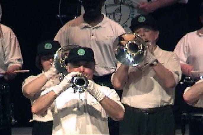 Joe Gianna, front Pat Buttigieg, Al Morrison behind Joe