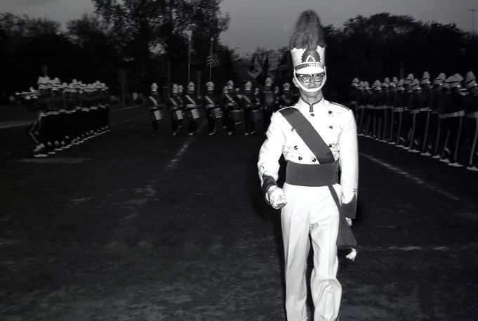 Photo by Don Daber  Al Was Drum Major in 1961