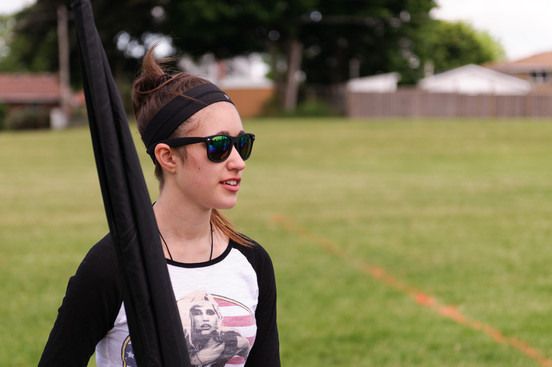 Optimists Alumni rehearsing (Oshawa, 2014)