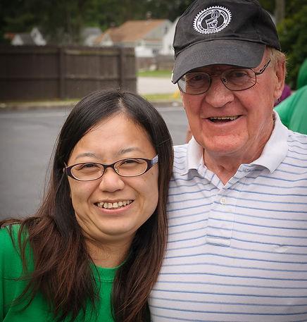 Kimiko and Lorne, Optimists Alumni (Indianapolis, 2016)