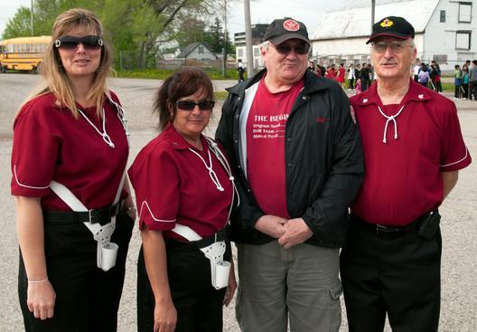 Scout House Alumni members (Woodstock, 2011)
