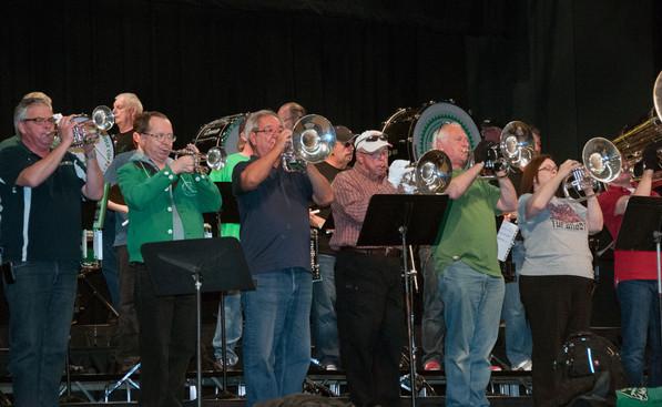 Optimists Alumni rehearsing (Simcoe, 2013)