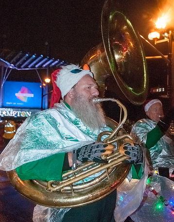 Keith and Mike, Optimists Alumni (Brampton, Santa Claus Parade, 2017)