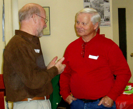 Barry Bell and Don White, January Party (2008)