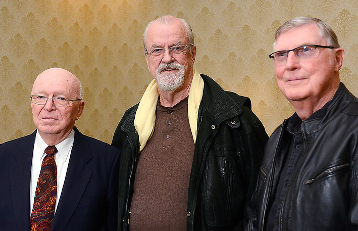 Jim Patten, Frans Rood and Phil Hennings (Don Daber Funeral, 2019)