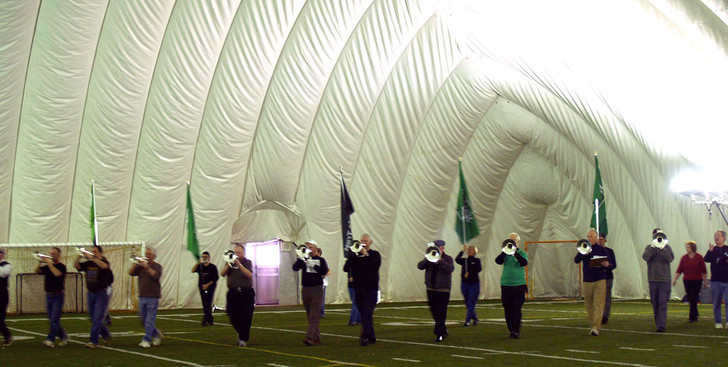 Rehearsing in the Dome (Feb. 2008)