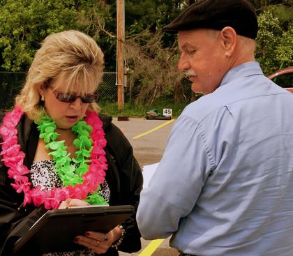 Glenda Tokiwa and Rick Lang (Bobcaygeon, 2011)