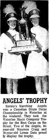 An old clipping submitted by Maureen Bell